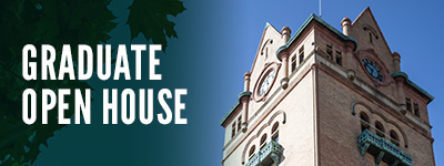 Save the date! Graduate Open House scheduled for September 26, 2018