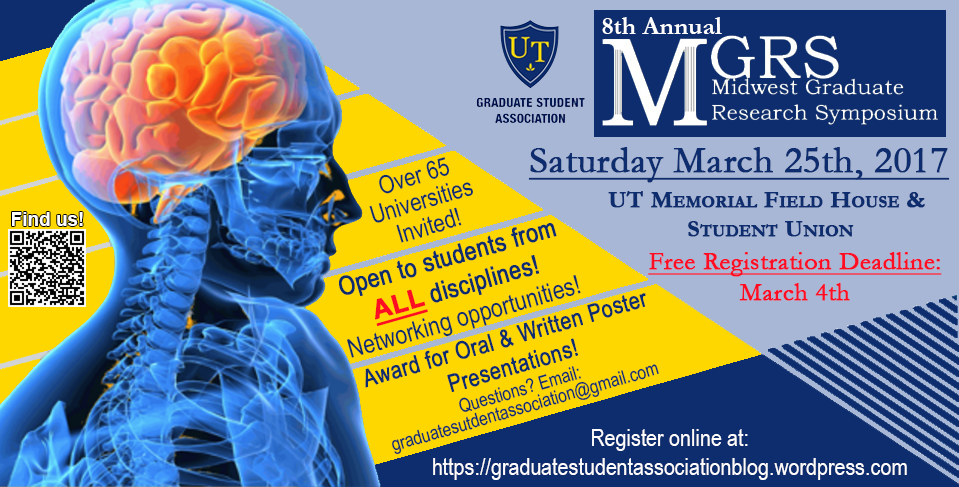 March 25: Midwest Graduate Research Symposium at the University of Toledo