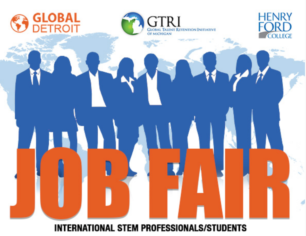 April 13: STEM Talent Job Fair hosted by the Global Talent Retention Initiative of Michigan (GTRI)