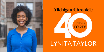 Lynita Taylor receives 40 Under 40 award from The Michigan Chronicle