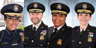 Four Detroit police leaders earn M.B.A.s through unique Ilitch School program