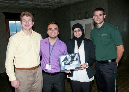 University of Toledo wins third annual GM-WSU Supply Chain Case Competition