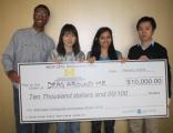 WSU students win entrepreneur innovation prize