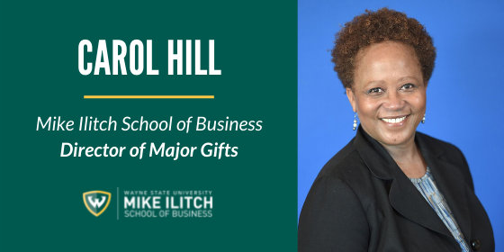 Native Detroiter and Ilitch School alumna chosen to lead fundraising efforts