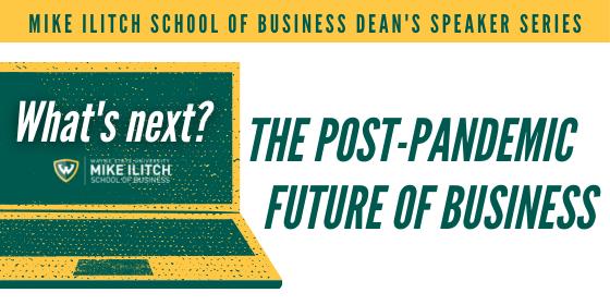 Ilitch School wraps up inaugural semester of Dean's Speaker Series