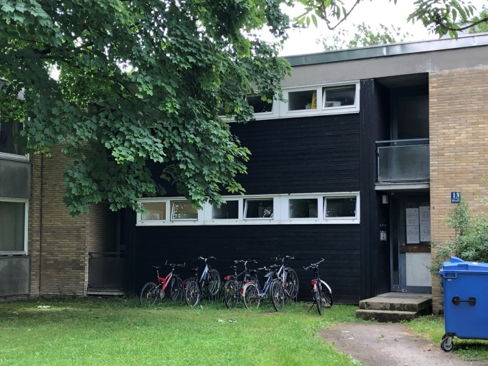 Picture of student housing in Germany