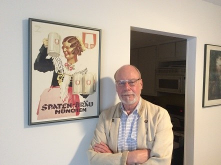 Picture of Carl Hammer in his home
