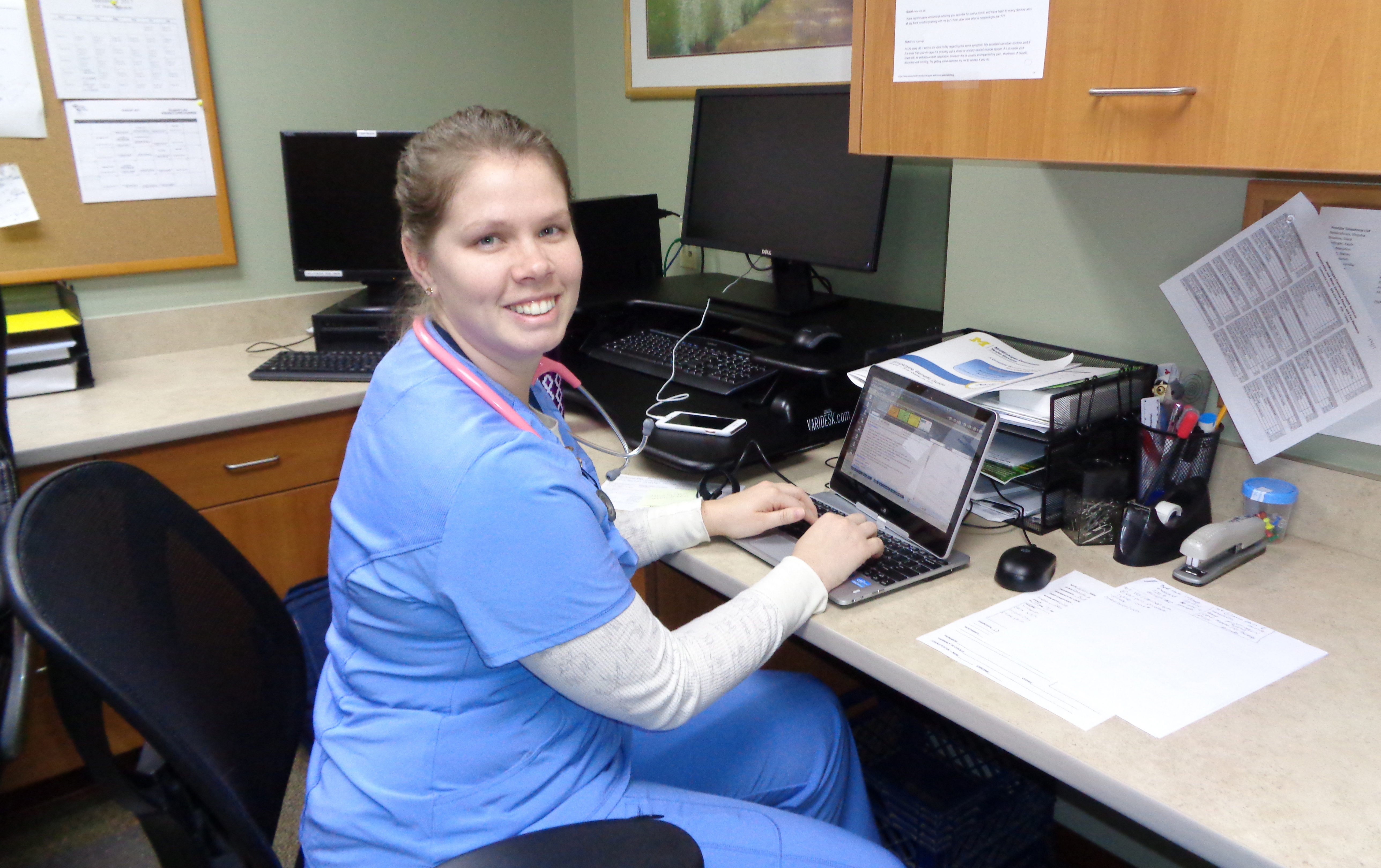 Nursing Doctoral Candidate Revisits Her Rural Roots