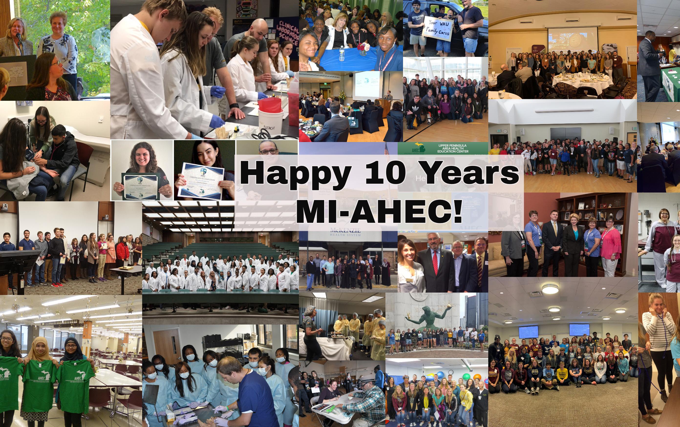 Michigan AHEC Celebrates 10 Years