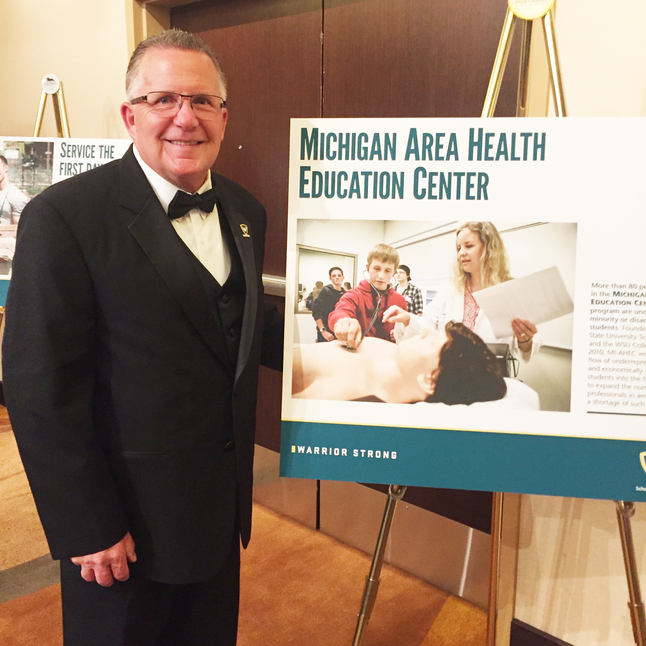 Michigan AHEC Helps Celebrate Wayne State University's Sesquicentennial