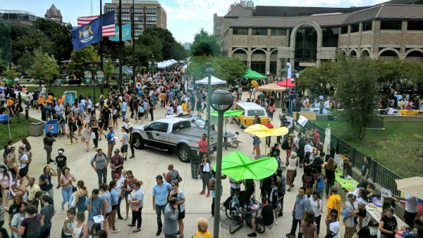 Wayne State welcomes largest freshman class in history