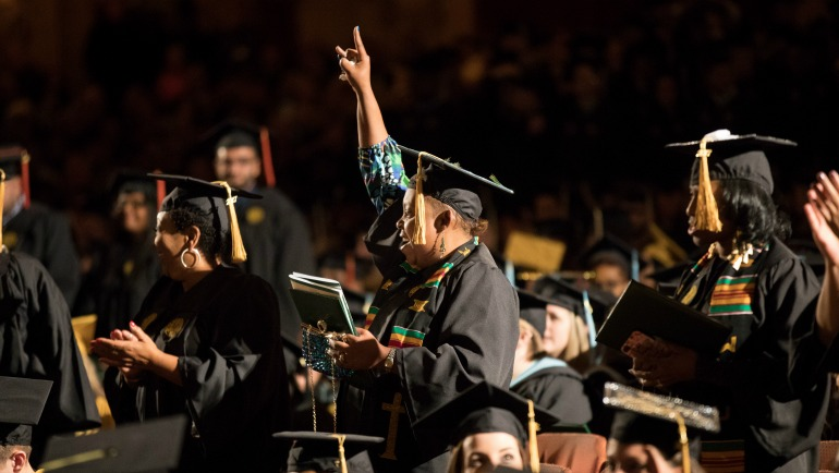 Wayne State graduation rate improvement best in nation