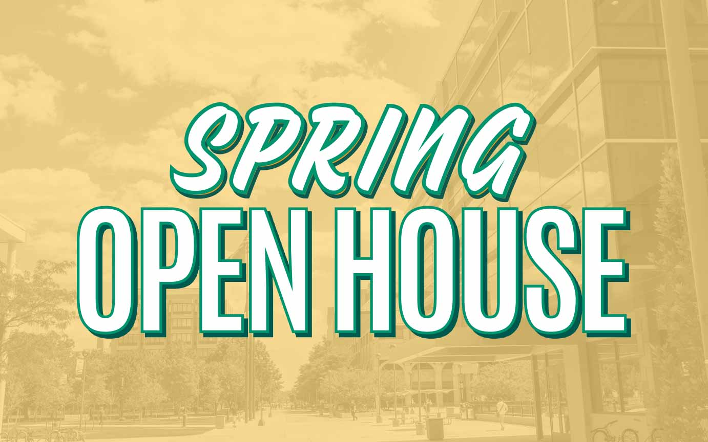 Join us for Spring Open House March 23