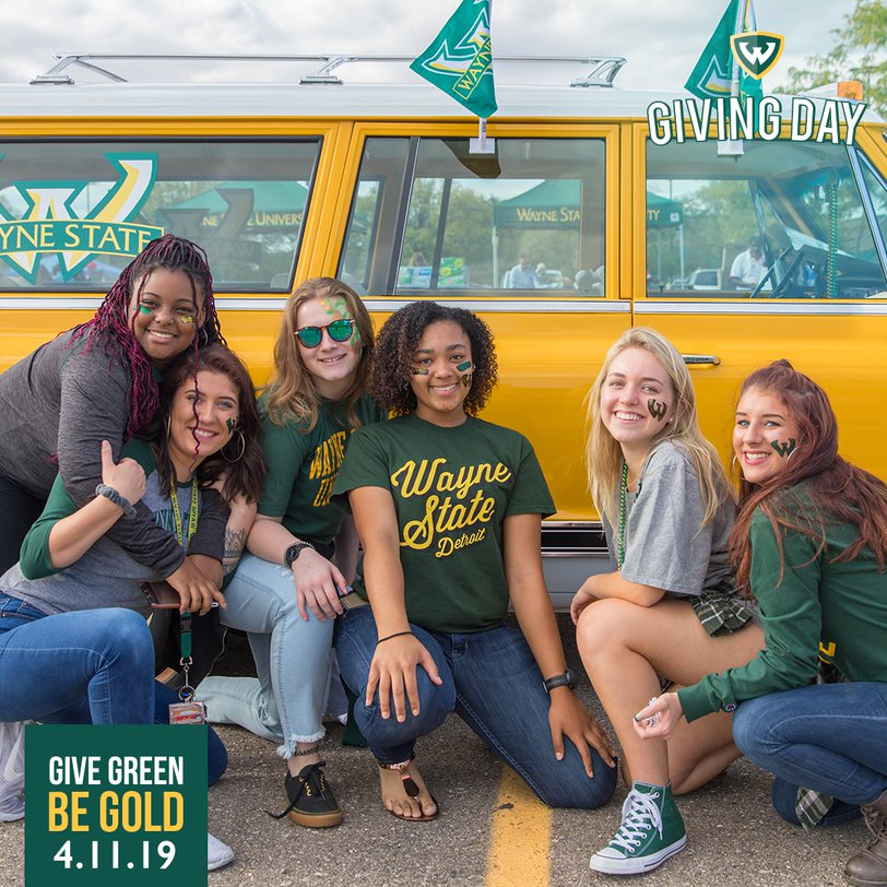 Give green, be gold on WSU Giving Day