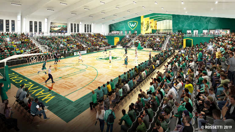 Wayne State University to construct new basketball facility