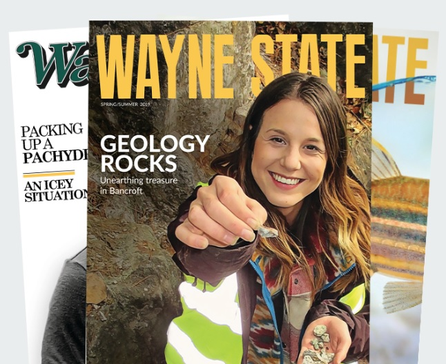 Read the latest issue of Wayne State magazine