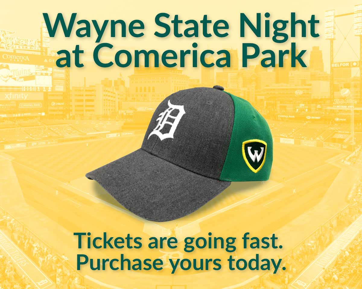 Join us for Wayne State Night at Comerica Park