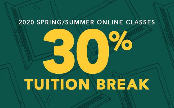 Spring/summer registration now open