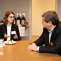 Law firms host students