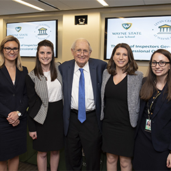Levin Center at Wayne Law sends 4 legal interns to Capitol Hill