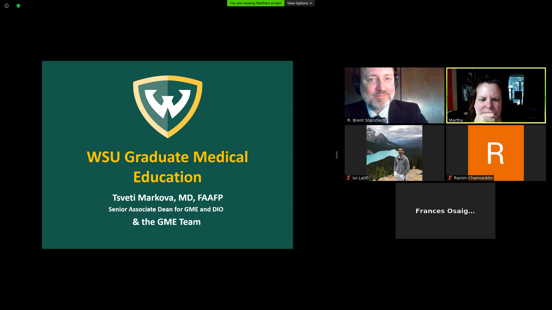 New resident physicians attend GME Orientation as virtual event, June 30