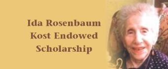 Social Work establishes Ida Rosenbaum Kost Endowed Scholarship for students overcoming life challenges