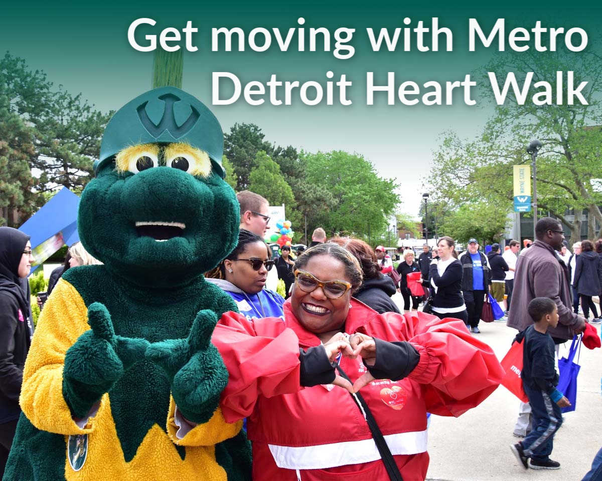 Get moving on May 18 with Metro Detroit Heart Walk