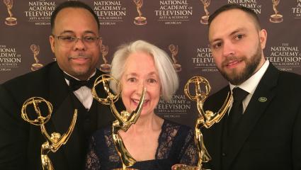CFPCA 'Be Inspired' recruitment video receives Emmy Award