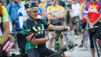 President Wilson to go on cycling tour