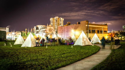 DLECTRICITY outdoor festival of art and light returns to WSU, Midtown