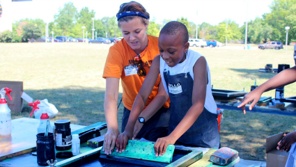 Warriors In Action: Helping more Detroiters become artists