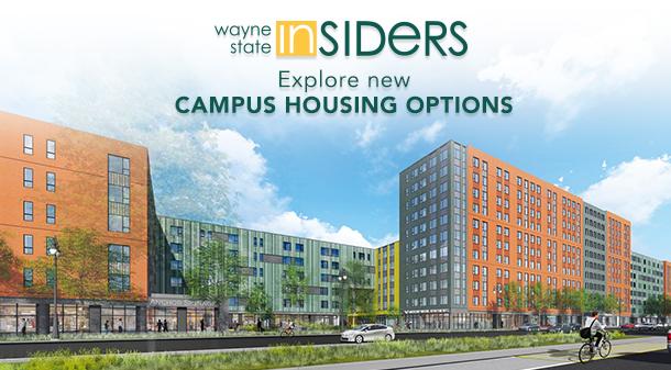 Wayne State Insiders explore new campus housing