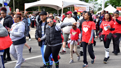 Join President Wilson for AHA Heart Walk kickoff meeting