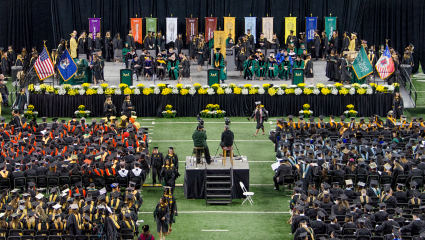 150th academic year culminates with commencement ceremonies