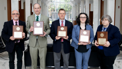 Board of Governors recognizes faculty scholarly achievements