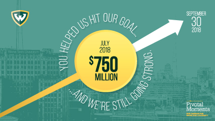 Pivotal Moments campaign hits fundraising goal, still going strong