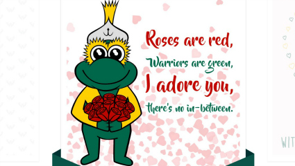 Share the love with WSU-themed Valentine's Day ecards