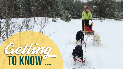 Levin Center manager leads the pack on the job and in the snow