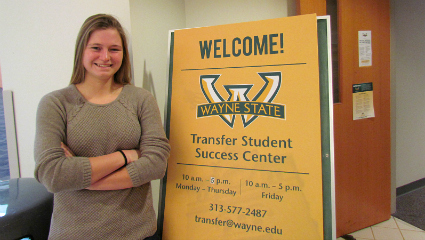 Wayne State recognized for transfer student initiatives