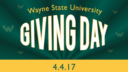 Mark your calendar for Wayne State Giving Day