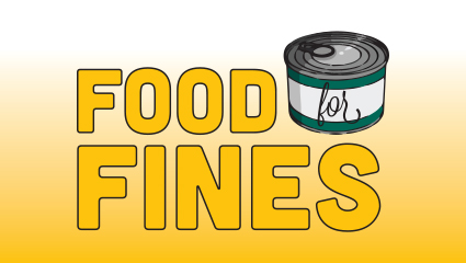 Food for fines: Help support the W food pantry