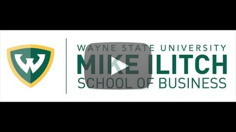 mike ilitch school of business, building, video