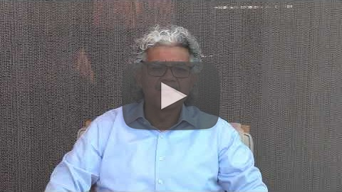 Video screenshot of a Mental Health Day message from President M. Roy Wilson