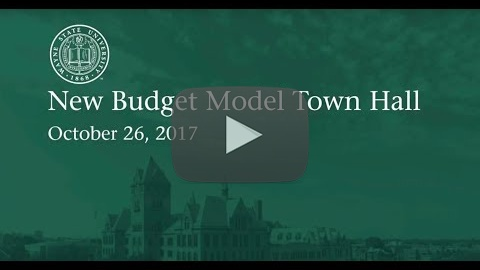 New Budget Model Town Hall – Wayne State University
